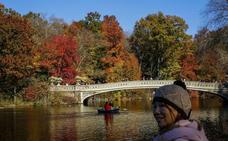 El espectáculo del otoño en Nueva York
