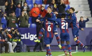Vídeo | Los jugadores del Levante se animan antes del partido