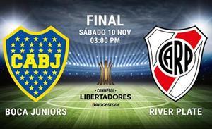 Boca - River Plate: Horario y cómo ver por televisión en España y Latinoámerica la final de la Libertadores