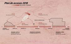 Nuevos accesos y rutas de entrada