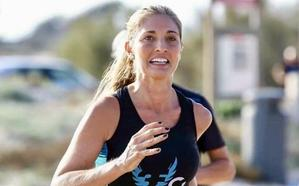 Covadonga Balaguer: una fallera mayor de Valencia en el maratón de la ciudad