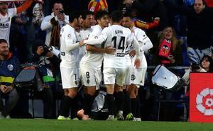 Vídeo | Resumen del Getafe 0-1 Valencia