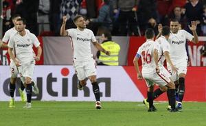 Mercado y Ben Yedder remontan y sitúan segundo al Sevilla