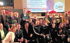 La Gala del Deporte premia el esfuerzo de los clubes locales