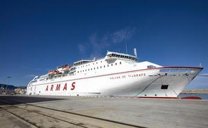 Trasmediterránea vende 6.000 pasajes de la línea Gandia - Baleares en una semana