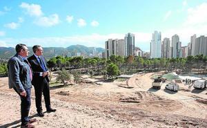 Las obras del Parque de la Séquia Mare de Benidorm concluirán a principios de 2019