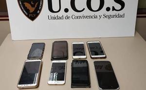 Detenido por el robo de ocho móviles en el centro histórico de Valencia