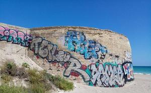 El vandalismo que más ensucia Valencia