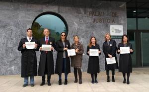 Los letrados de Dénia secundan la huelga y piden equipararse salarialmente a jueces y magistrados