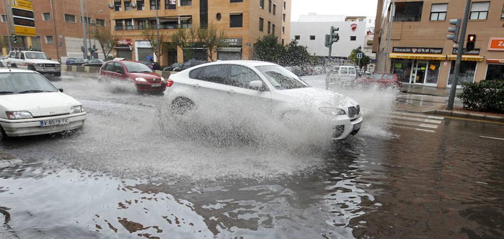 Las lluvias dejarán hasta 60 litros en una hora en puntos de la Comunitat