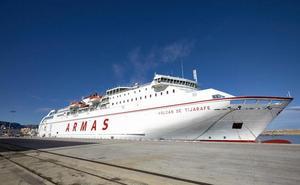Trasmediterránea prevé un impacto económico de 15 millones anuales en la línea Gandia - Baleares