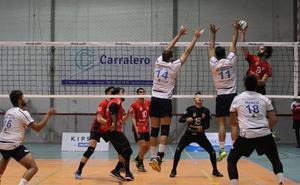 El femenino y el masculino del Voleibol Xàtiva se imponen en sus partidos