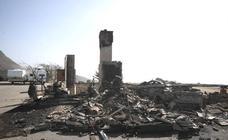 La imágnes de la destrucción en California