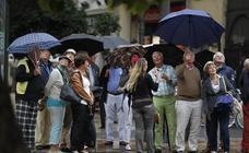 El temporal dejará 100 litros por metro cuadrado