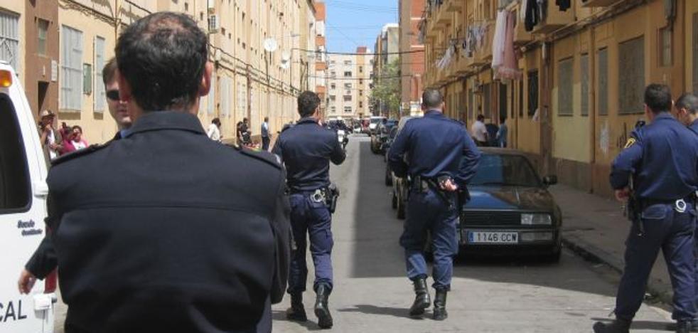 Ocho detenidos en una operación antidroga en Valencia
