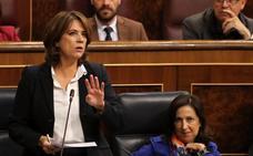Delgado no aclara si el Gobierno concederá el indulto a los soberanistas