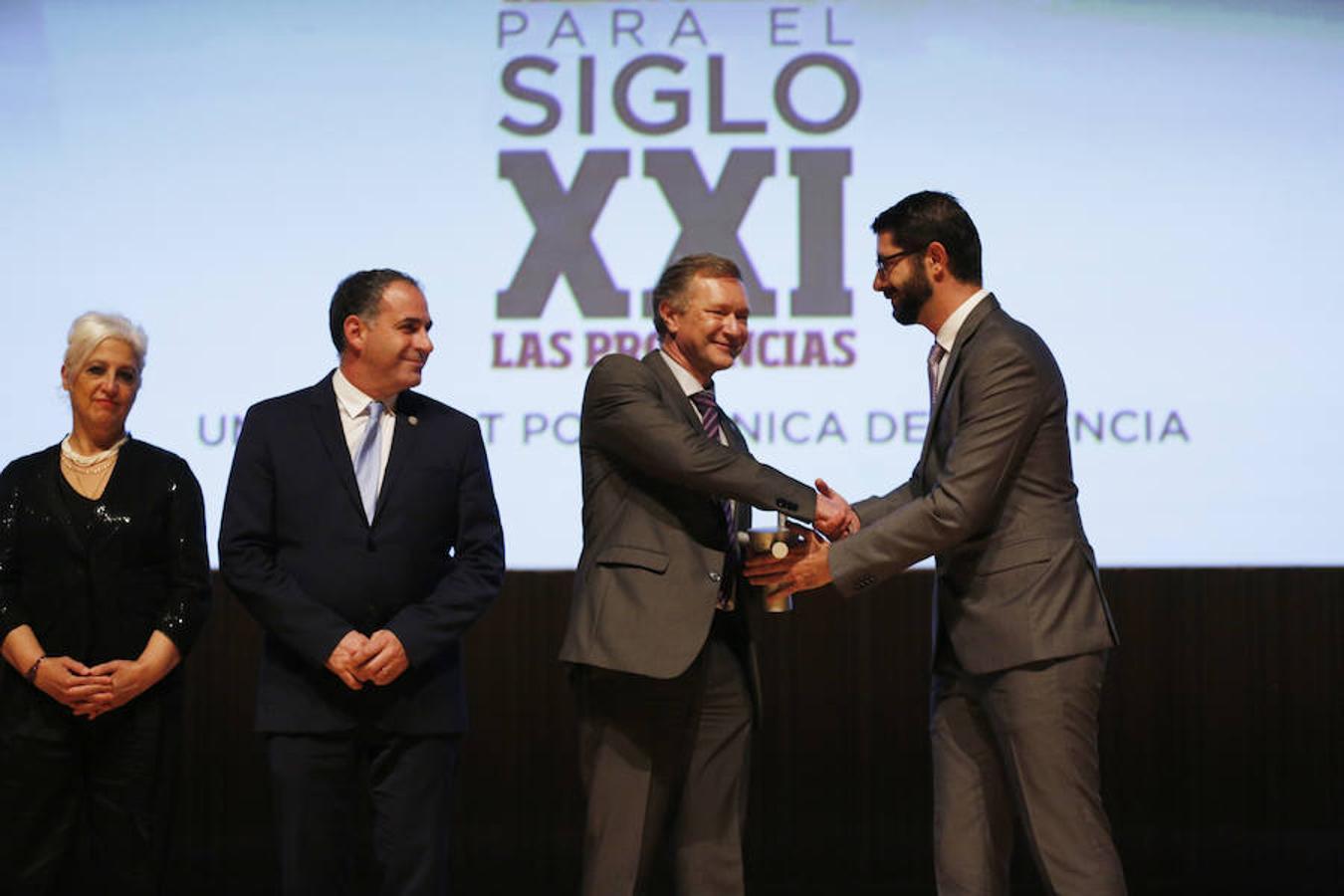 Así fue la entrega de premios en la gala Valencianos para el Siglo XXI