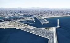 Una empresa propone levantar en la Marina de Valencia una torre eólica de 170 metros