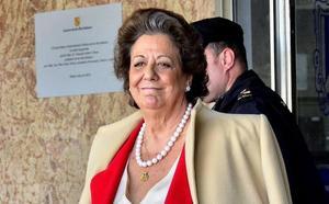 Condena unánime del Ayuntamiento al uso denigrante de la imagen de Rita Barberá, mientras que Les Corts no llega a un acuerdo