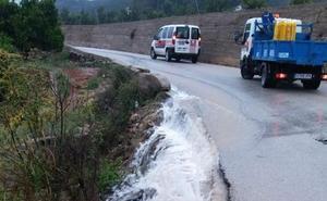 Desalojados 12 niños del Preventori de Real de Gandia por las trombas de agua en la Safor