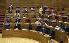 Les Corts rechaza las enmiendas a la totalidad de PP y Cs a los presupuestos