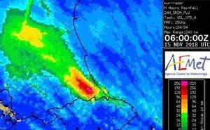 La 'Zona Cero' del temporal de lluvias en Valencia y Alicante