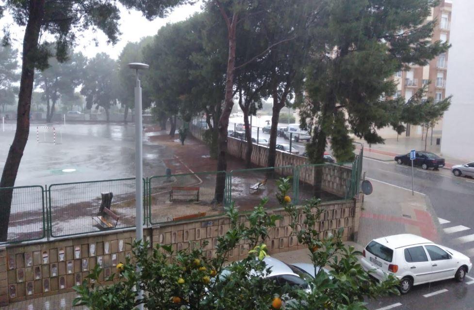 Los municipios donde más está lloviendo en Valencia, Alicante y Castellón