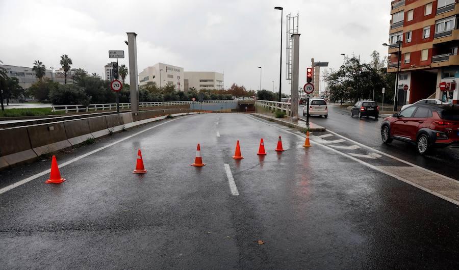 Lluvias en Valencia: Desbordamientos, inundaciones y carreteras cortadas en la provincia de Valencia
