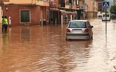 Declarada la emergencia en la Ribera por desbordamientos e inundaciones tras más de 200 litros