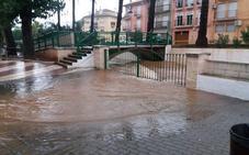 Los municipios en los que más está lloviendo desde esta madrugada