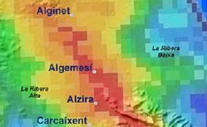 El temporal de lluvias en Valencia se concentra en 175 km2