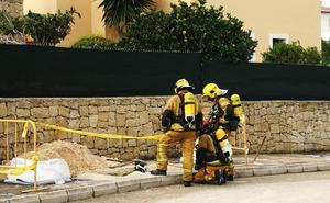 Los bomberos actúan en un escape de gas en Xàbia