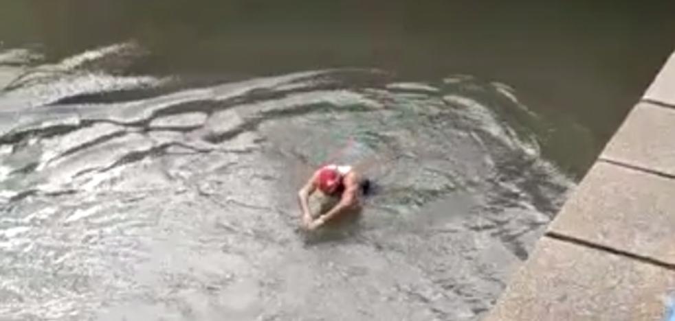 Humor valenciano con las inundaciones: «Tírali, Ximo!»