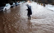 Las tormentas en Valencia convierten 2018 en el año más húmedo desde 2007