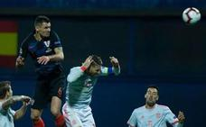 Lovren presume de codazo a Ramos y se mofa del equipo español