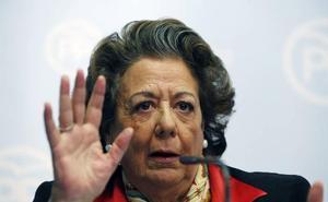 Acuerdo unánime en Les Corts para condenar los ataques a Rita Barberá