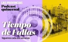 La falla que «vuelve a casa» y la pareja de presidentes más joven de Valencia