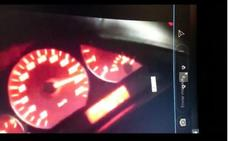 La Guardia Civil identifica a un menor que conducía a 219 kilómetros por hora y colgó el vídeo en internet