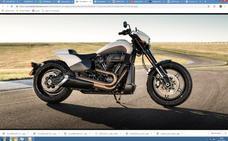 Potencia desatada en la renovada 'dragster' de Harley Davidson