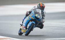 Arón Canet: «Me he quedado en Moto3 para ganar el Mundial, ese es el único objetivo»