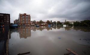 «En el Marítimo casi vamos en barca»