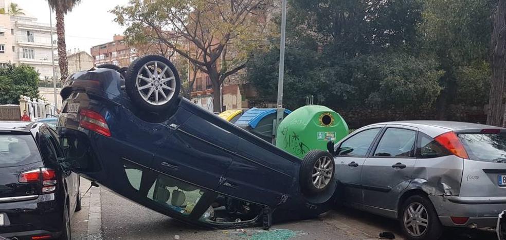 Detenido tras sufrir un accidente en Valencia y negarse a realizar la prueba de alcoholemia