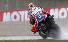 Petrucci, el más rápido de los entrenamientos de MotoGP
