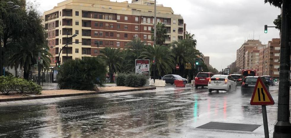 La ciclogénesis llega a Valencia con una gran tromba de agua