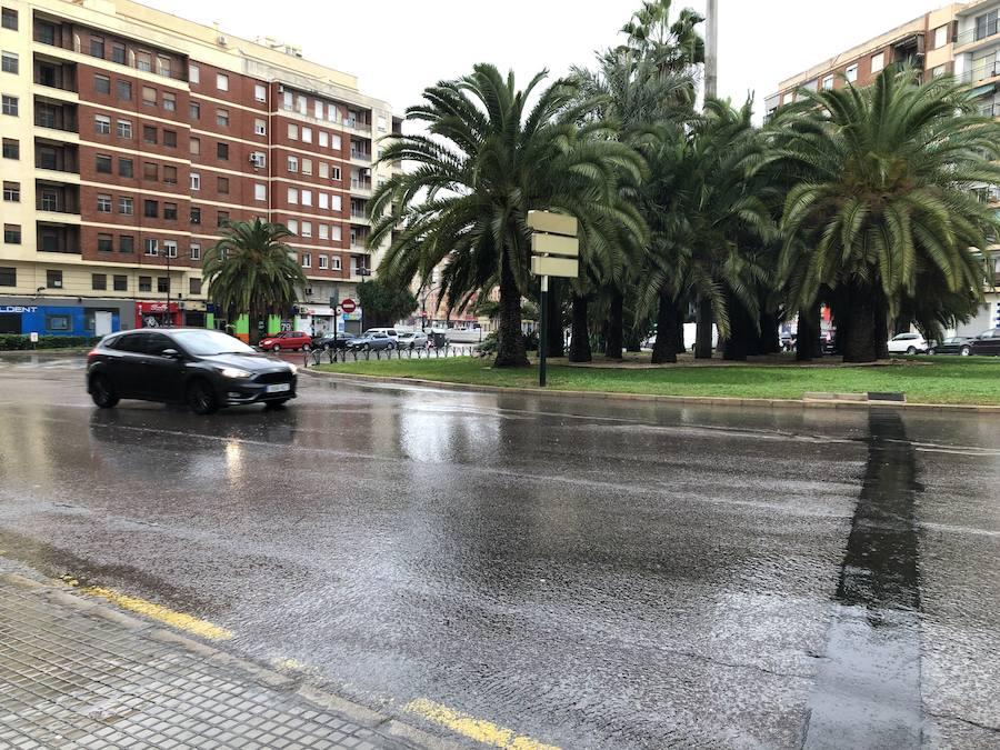 Los efectos de la ciclogénesis en Valencia