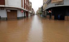 Caminos cortados y colegios cerrados en la comarca de la Ribera