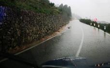 La Font cierra una carretera ante los continuos desprendimientos de rocas