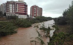 El temporal golpea con fuerza La Safor, que cierra colegios, caminos y otras instalaciones