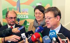 La comisaria europea apoya que el tren a Zaragoza esté en la red de transportes