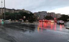 La lluvia vuelve a Valencia